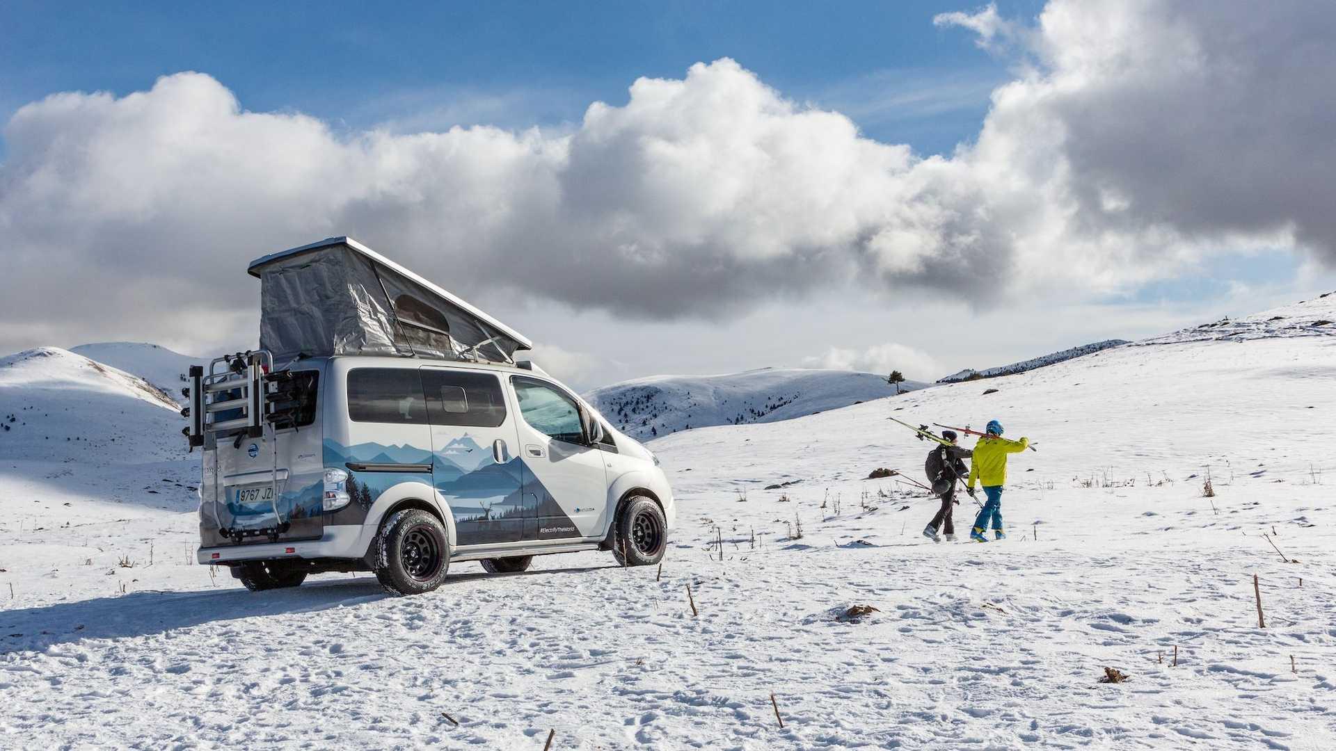 Το εκπληκτικό e-NV200 Winter Camper concept