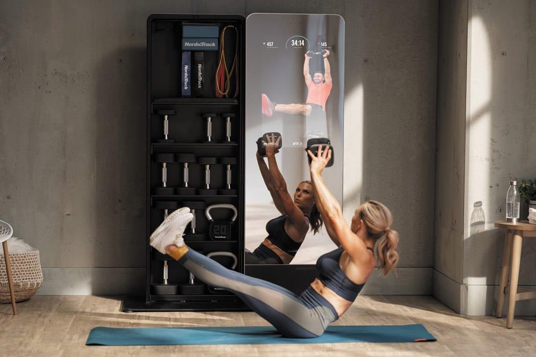 Γυμναστική στο σπίτι με το NordicTrack Vault