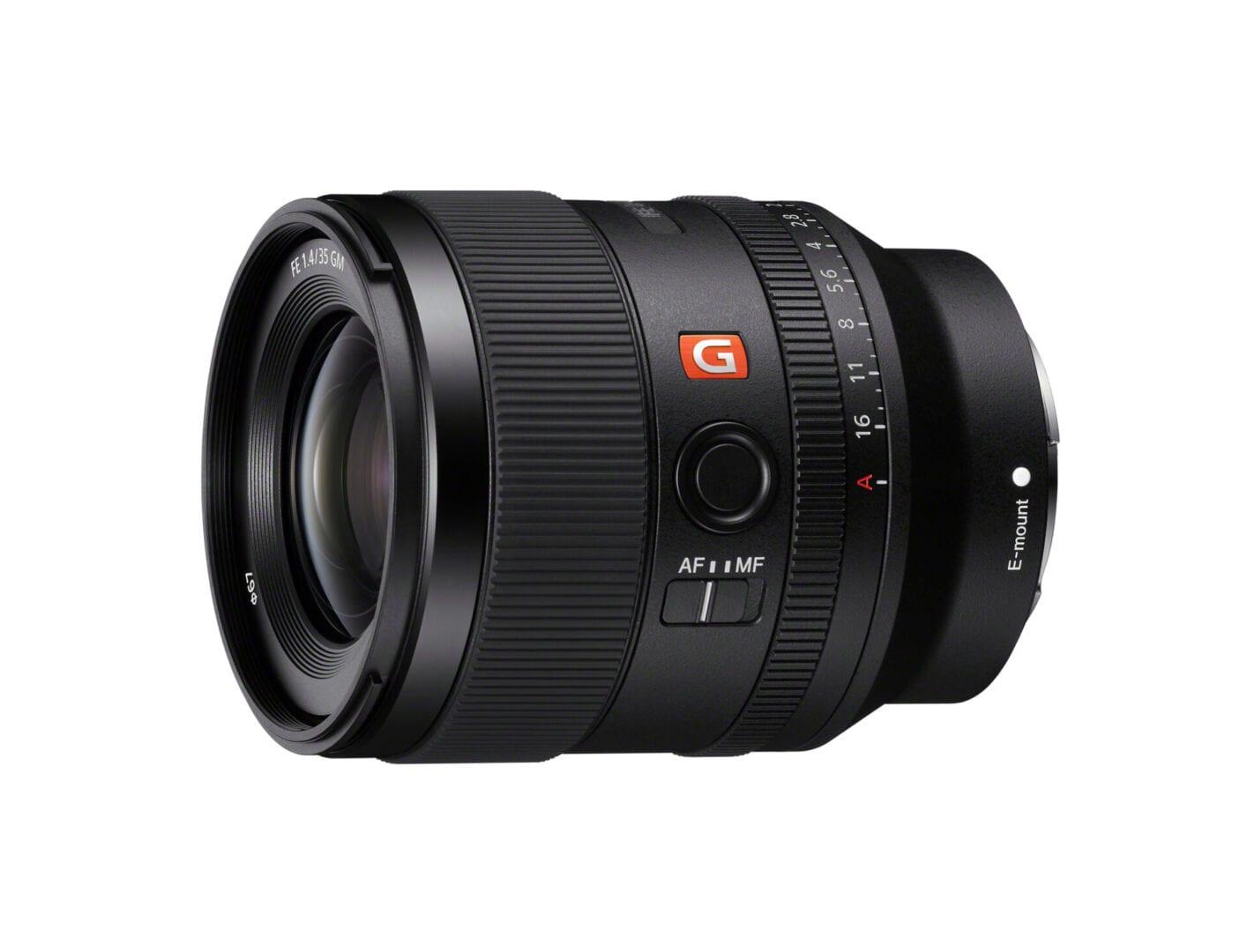 Sony ανακοινώνει τον FE 35mm F1.4 GM