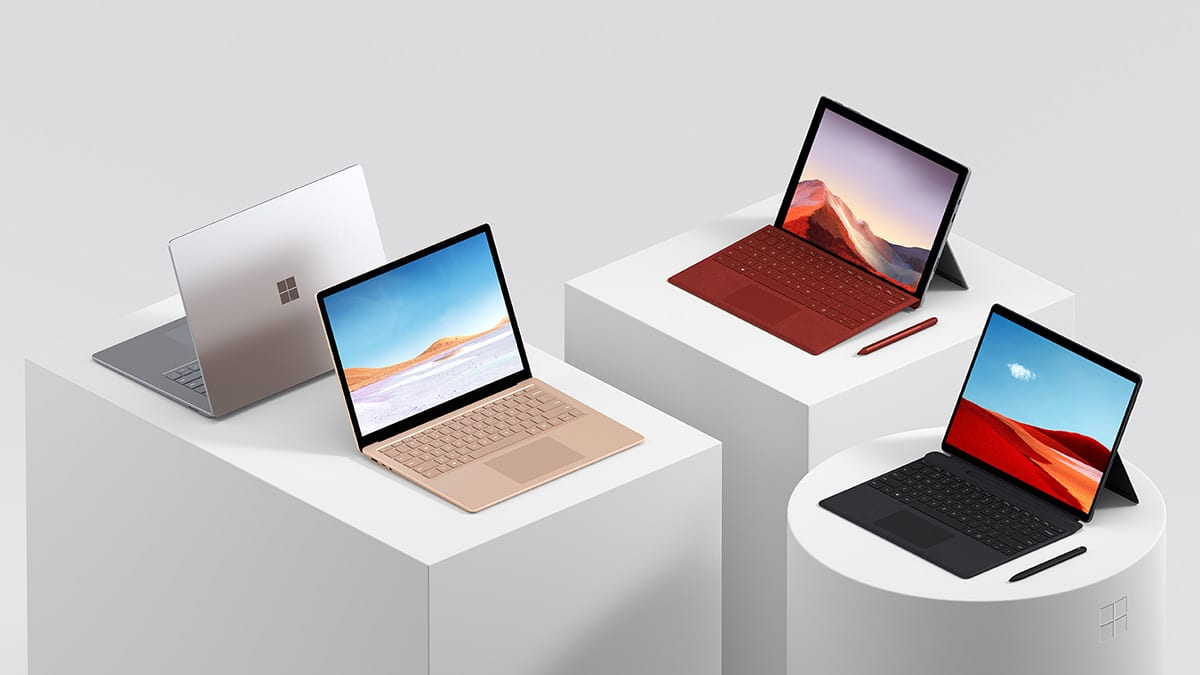Microsoft Surface Pro 7 Vs MacBook