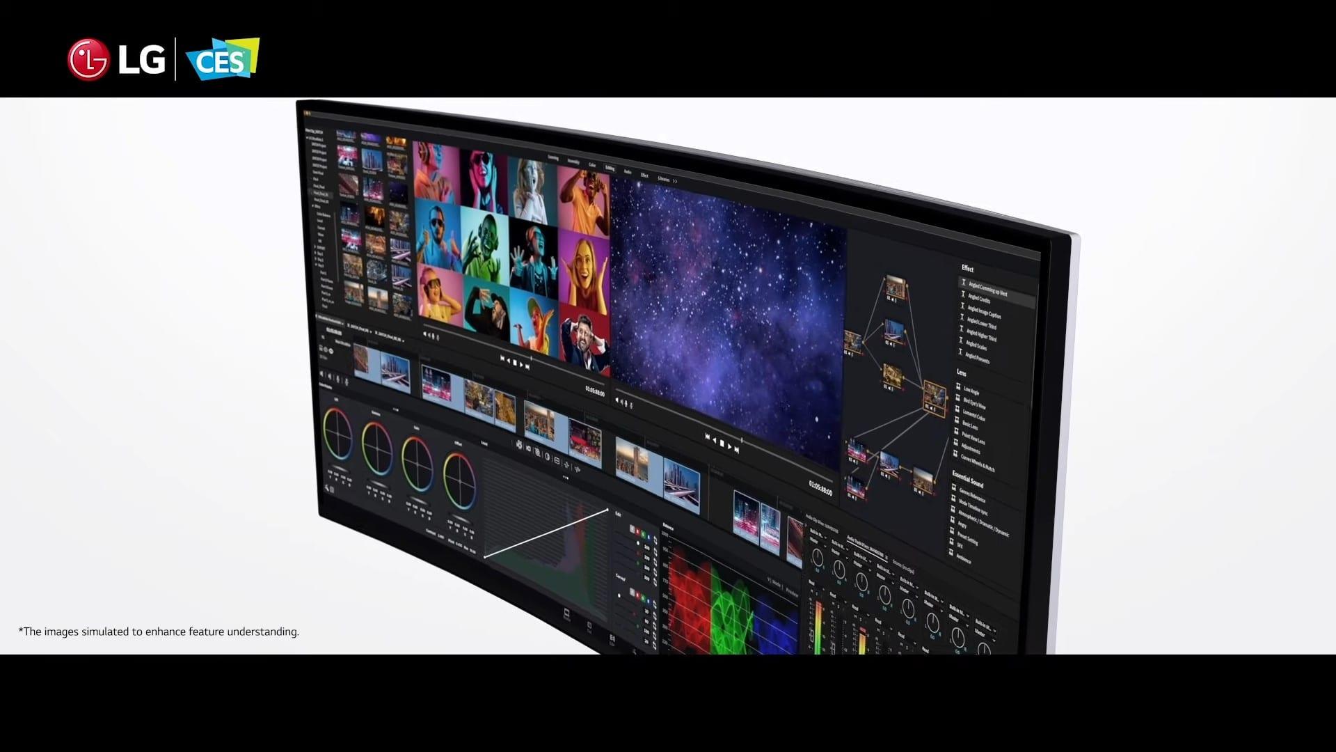 CES 2021 – LG UltraWide Monitor + CineBeam Laser 4K