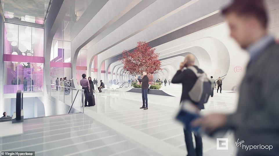 Virgin Hyperloop Εμπειρία