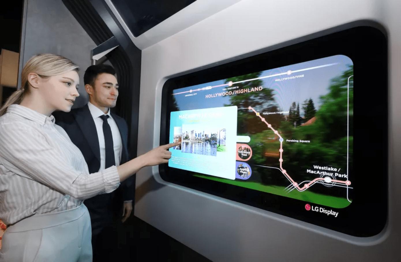 CES 2021 – Εκπληκτικές πρωτότυπες διαφανείς OLED τηλεοράσεις