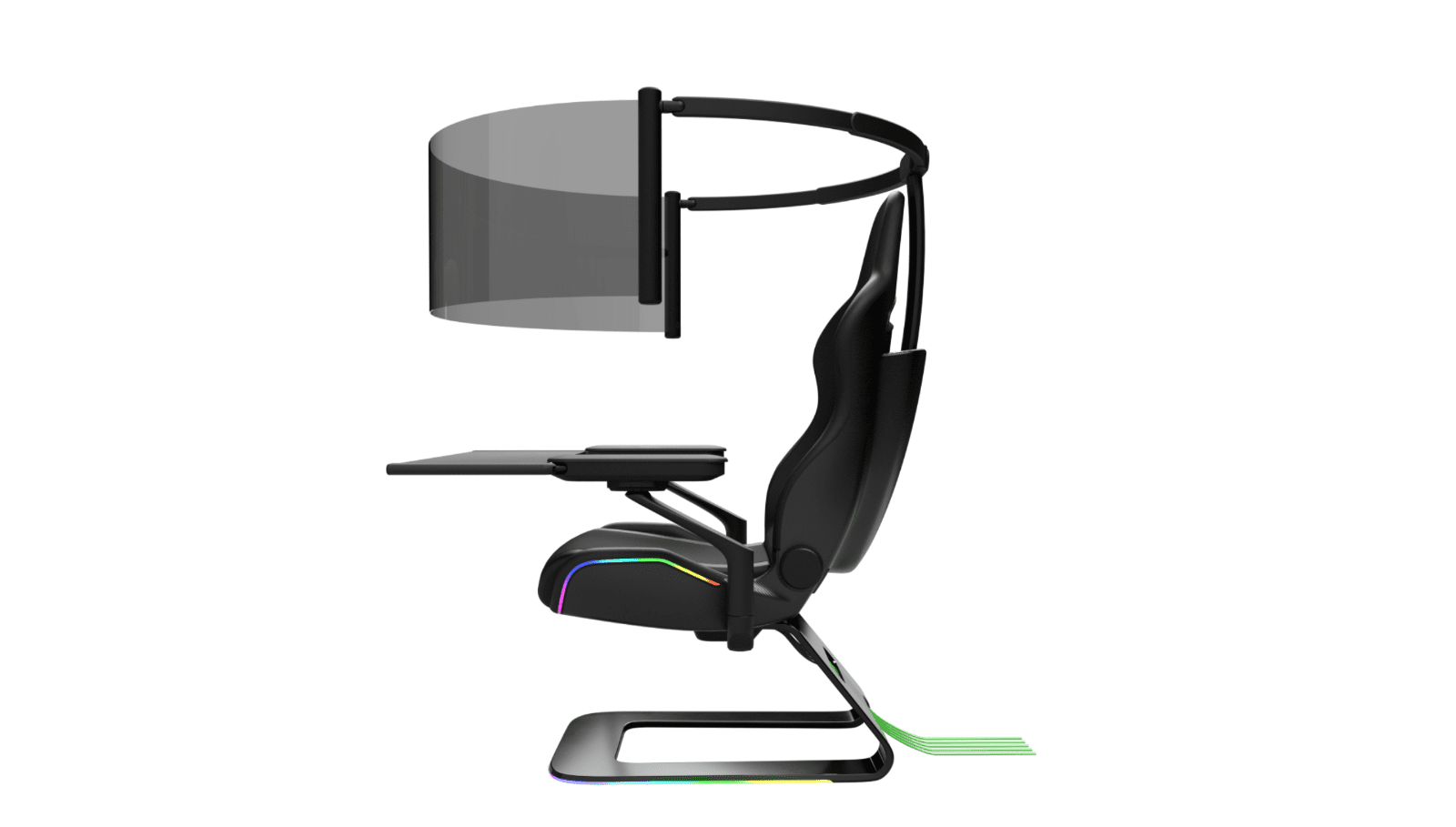 CES 2021 – Razer Project Brooklyn Gaming Chair Concept