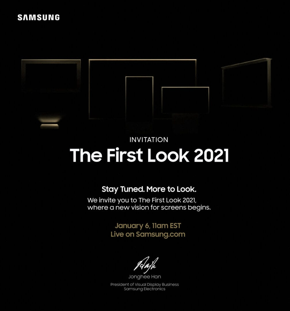 CES 2021 – 'First Look 2021'