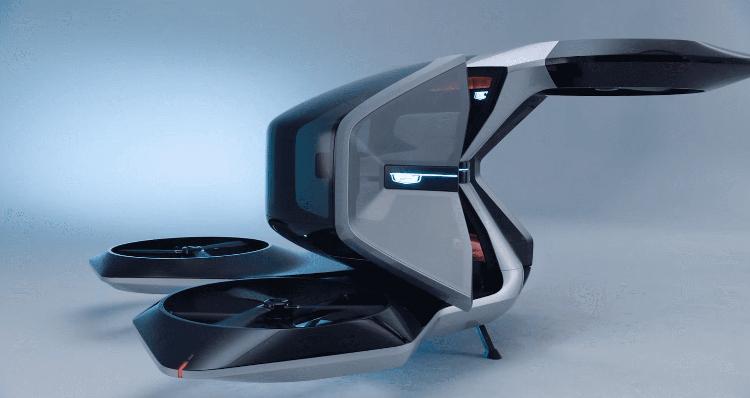 CES 2021 – Το υπέροχο Cadillac VTOL Concept