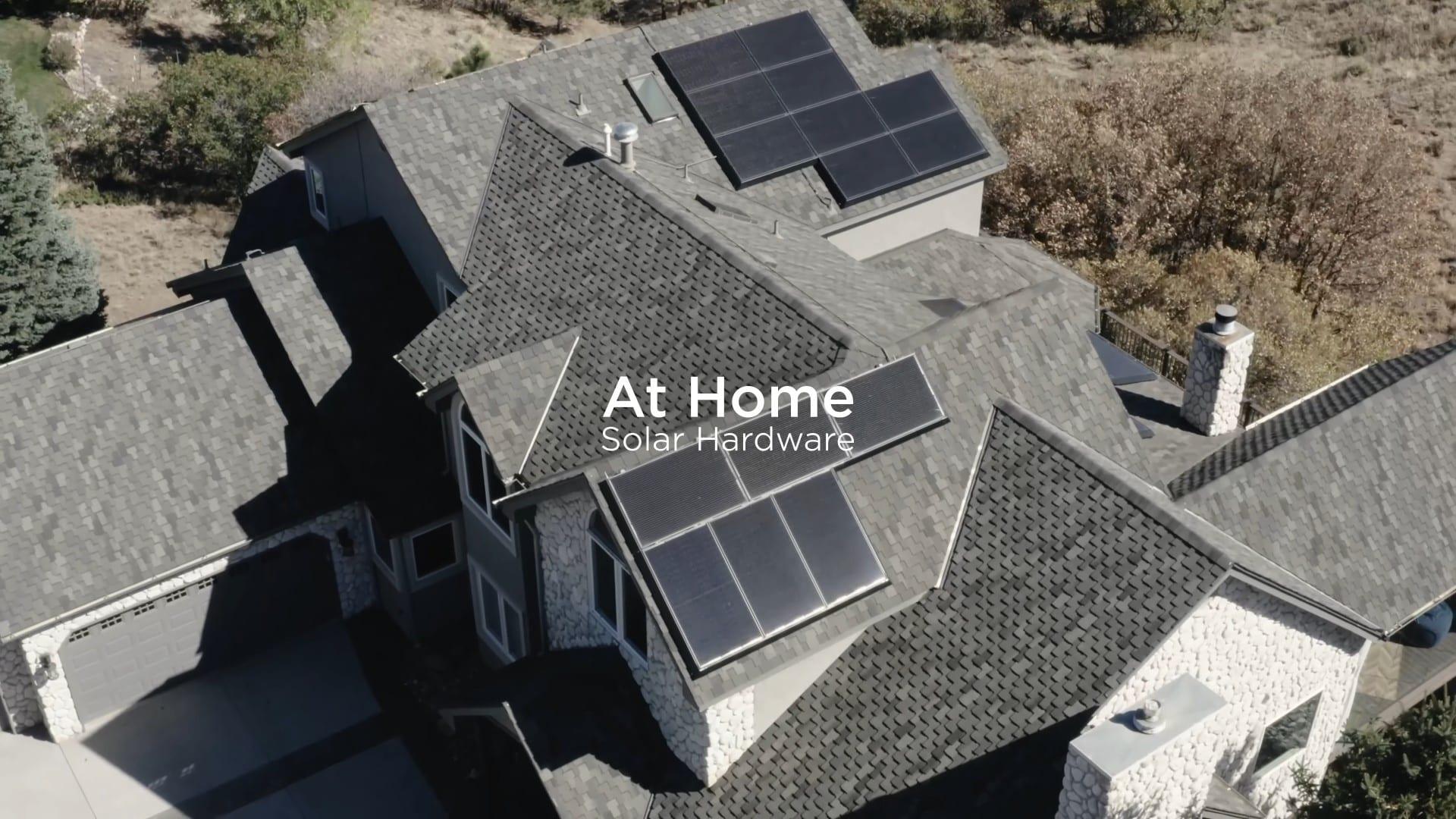 Solar Hardware – Nέα γενιά ηλιακά της Tesla