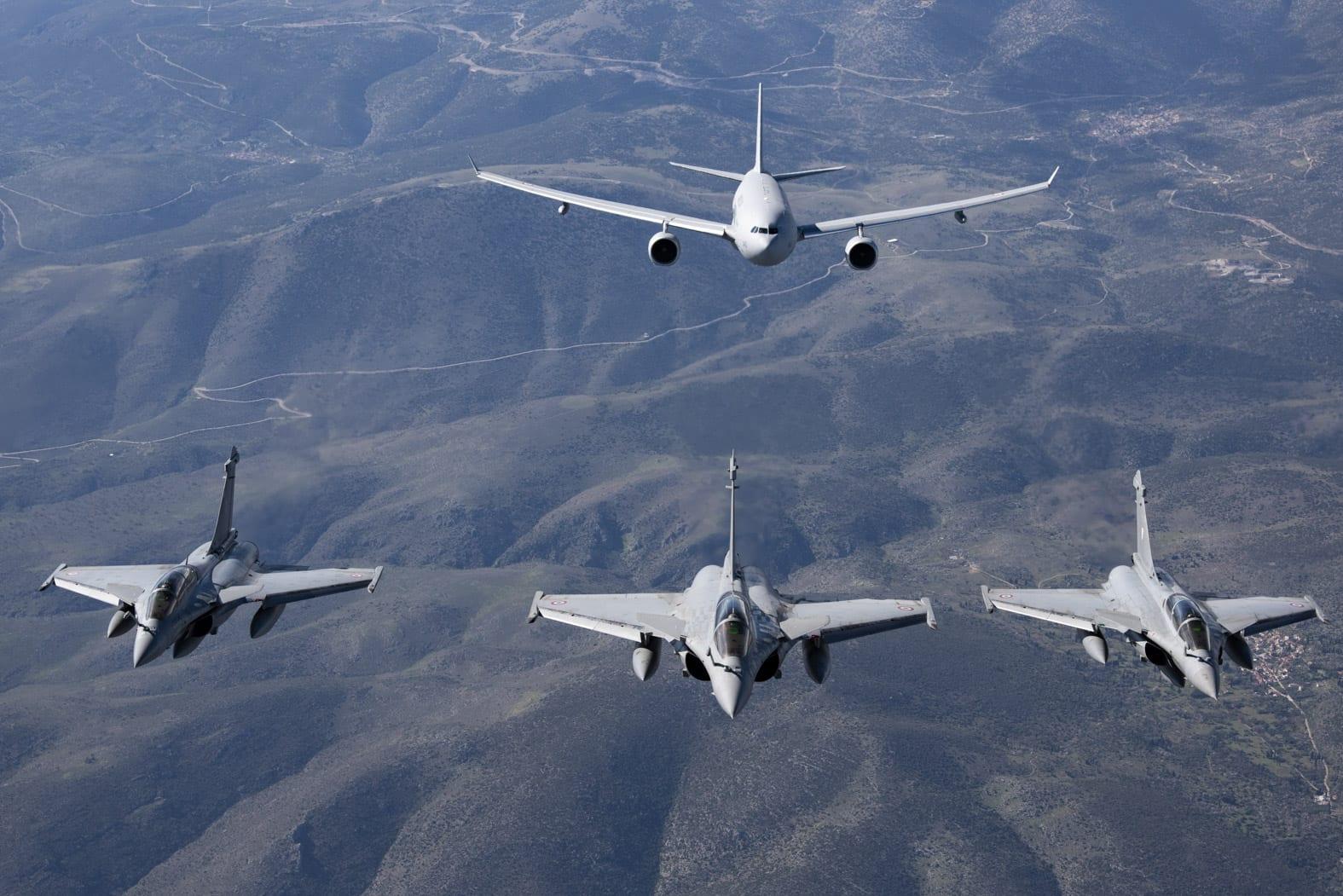 Τέσσερις Έλληνες πιλότοι εκπαιδεύονται στα Dassault Rafale