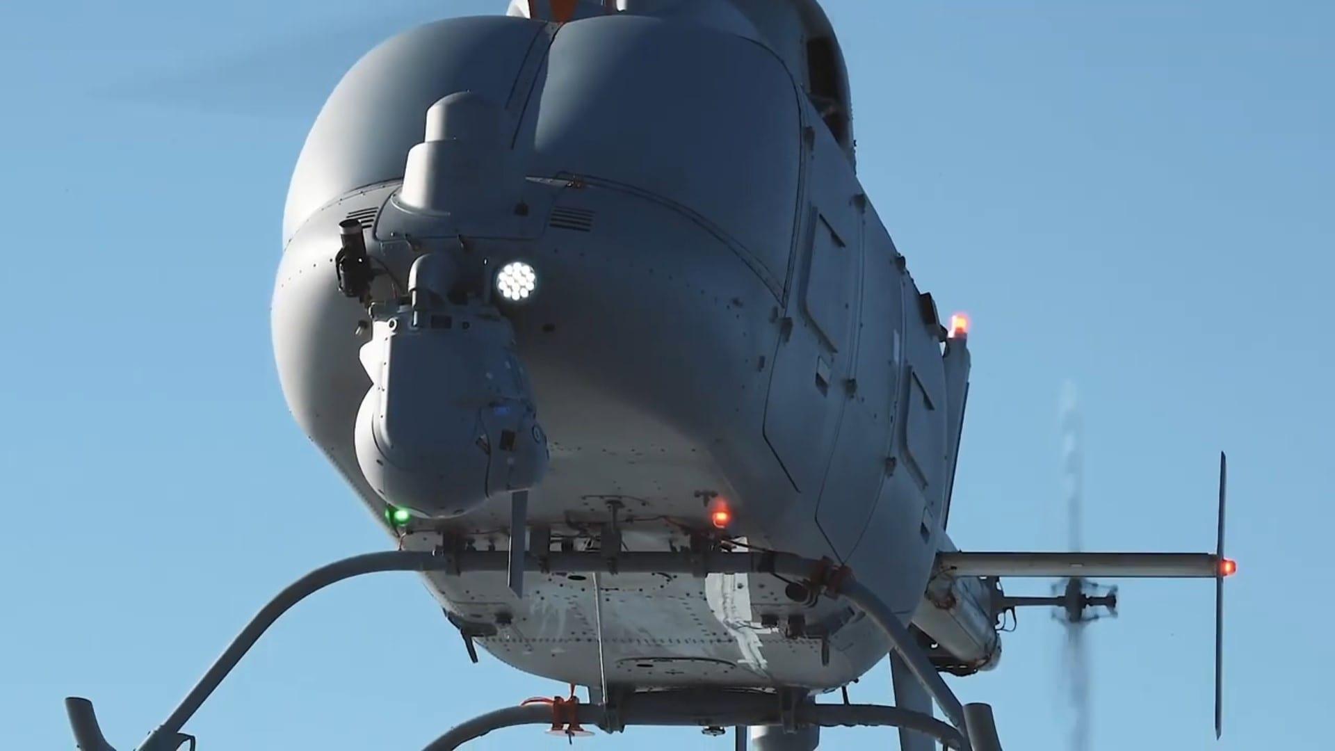 Το Μη Επανδρωμένο MQ-8C Fire Scout