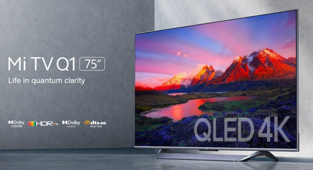 Νέα Mi TV Q1 75′ 4K τηλεόραση με QLED τεχνολογία