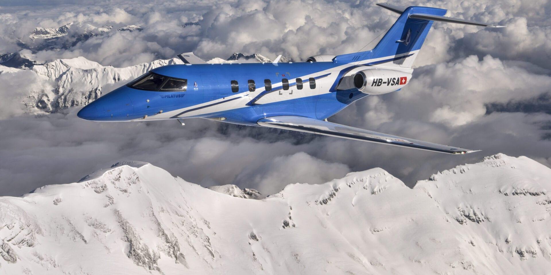 Πρεμιέρα για το Pilatus PC-24 Jet
