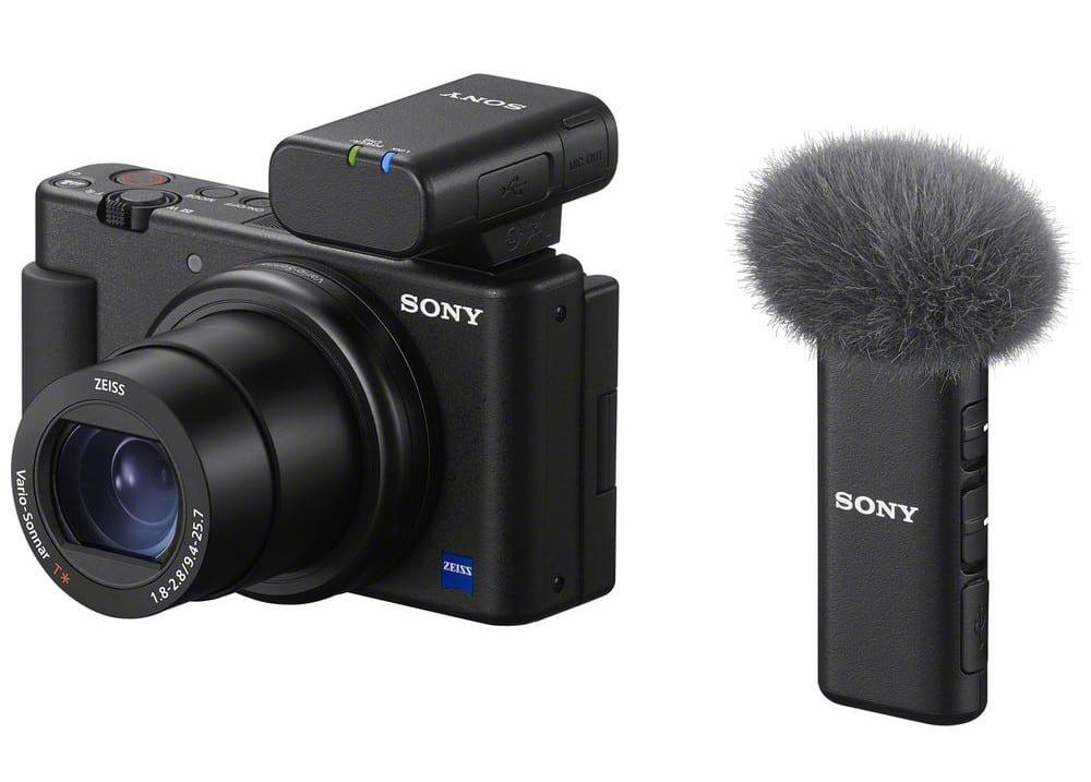 Νέο Sony ECM-W2BT ασύρματο μικρόφωνο + ECM-LV1 lavalier μικρόφωνο