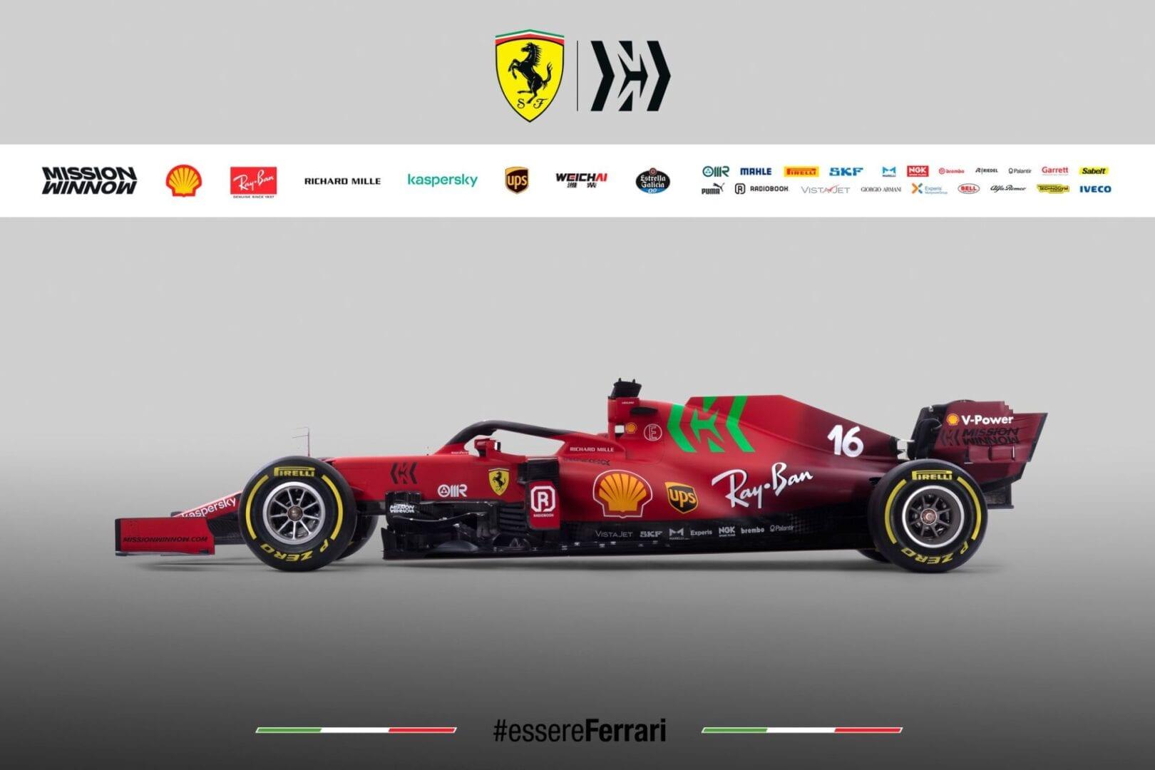 H νέα Ferrari SF21