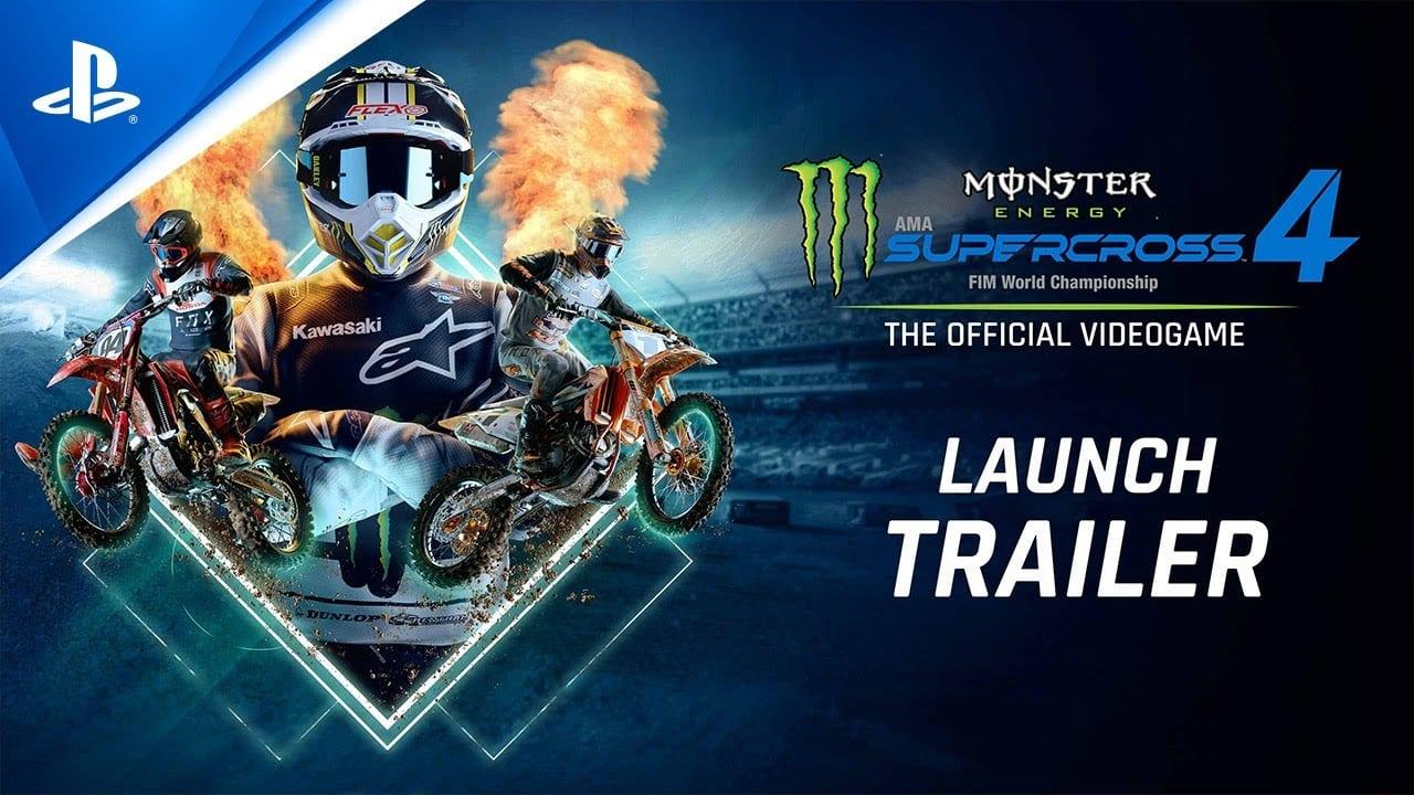 Monster Energy Supercross 4 – Launch Trailer
