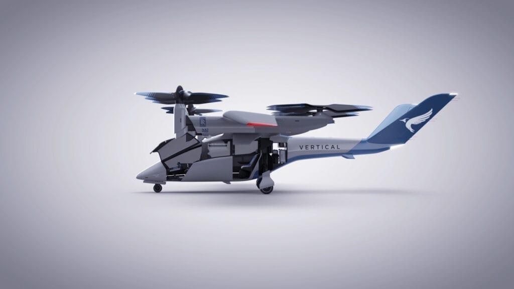 Rolls-Royce + Vertical Aerospace eVTOL – νέο επιβατικό Ηλεκτρικό Ταξί