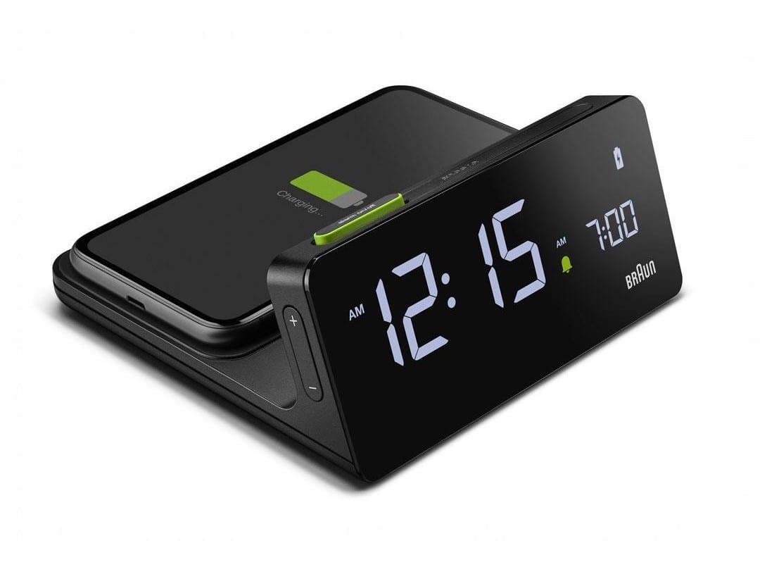 Braun BC21 Digital Alarm Clock