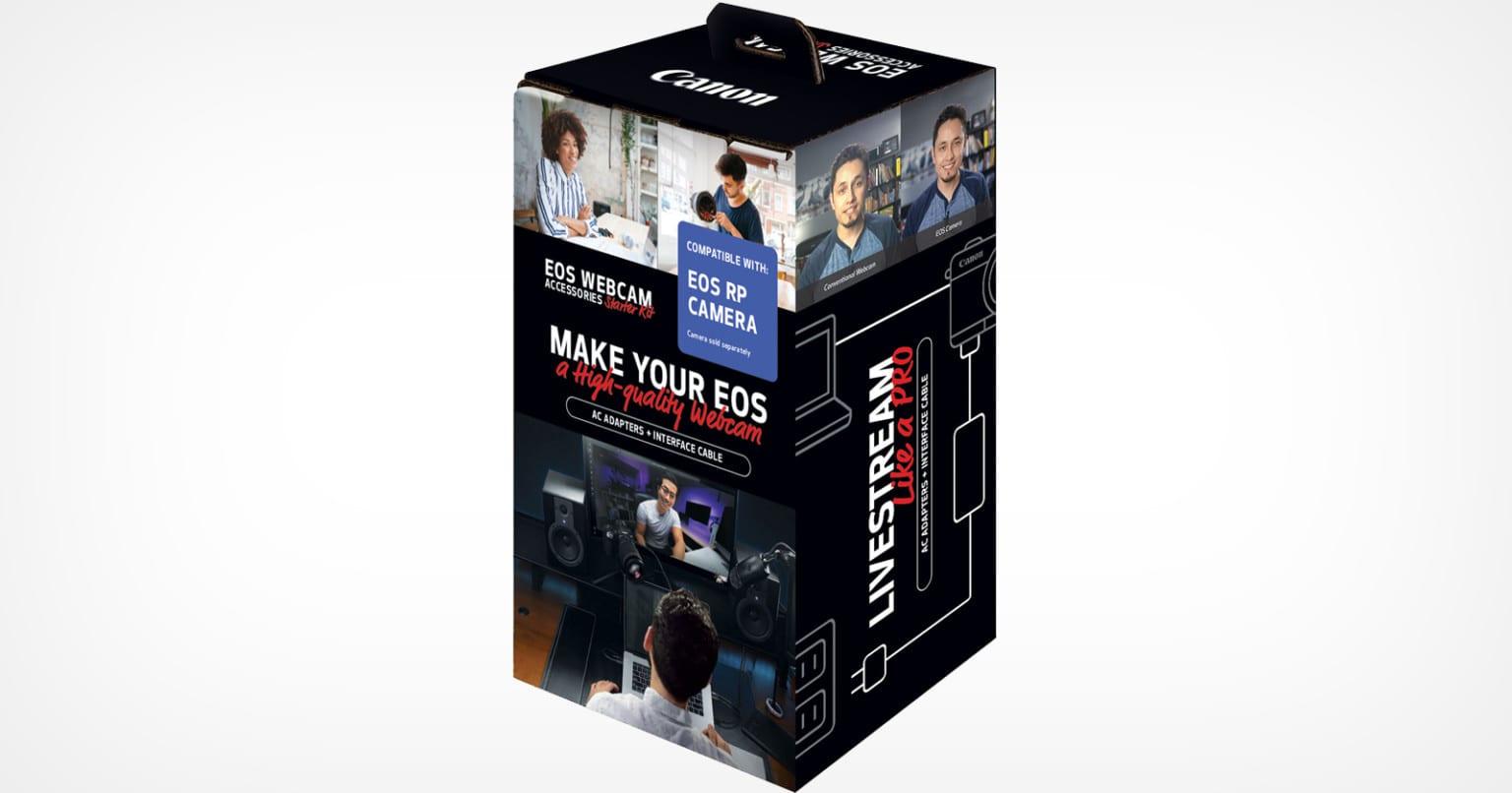 Canon Webcam Kits για DSLRs και  Mirrorless
