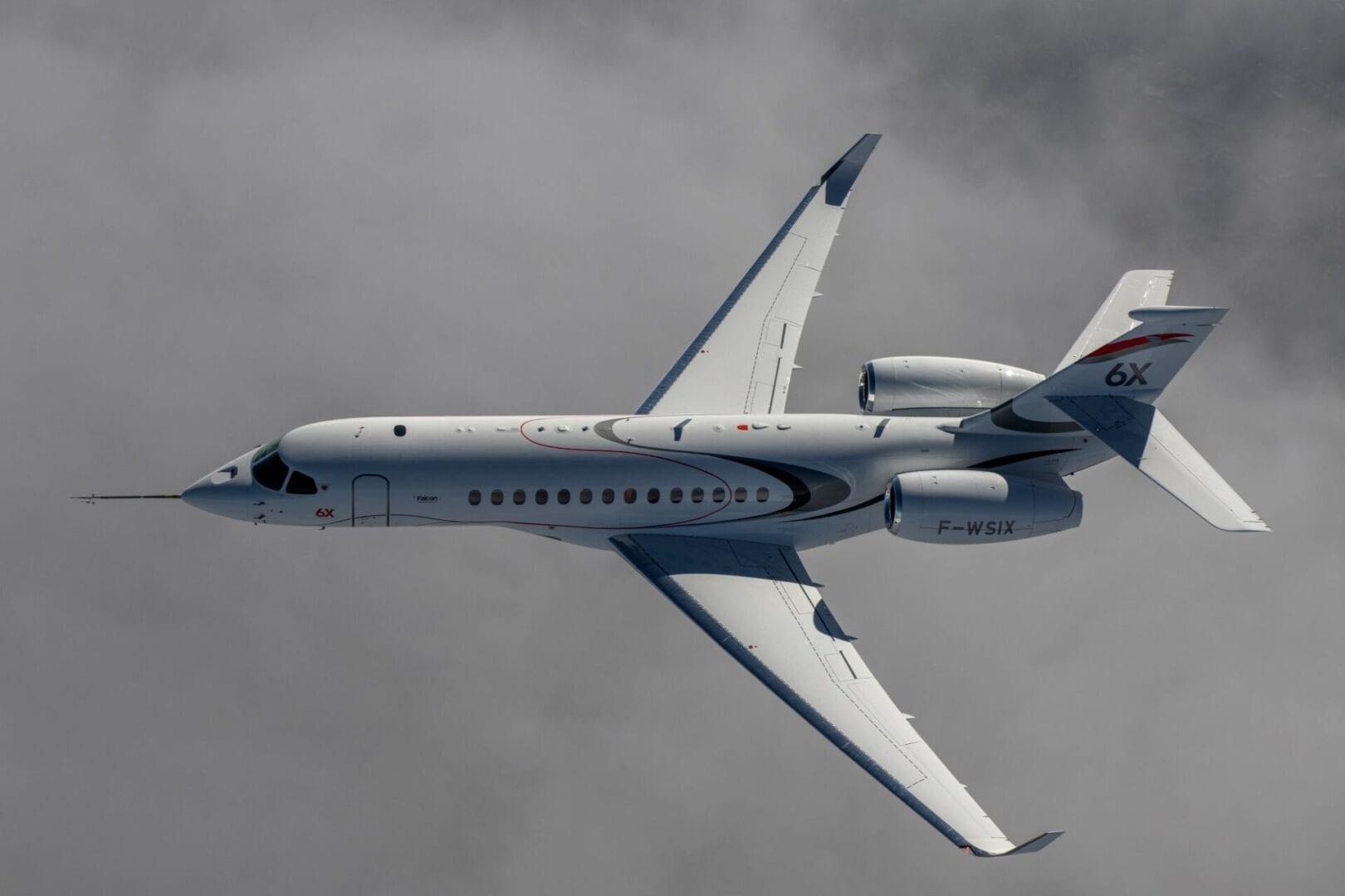 Πρώτη πτήση για το Dassualt Falcon 6X