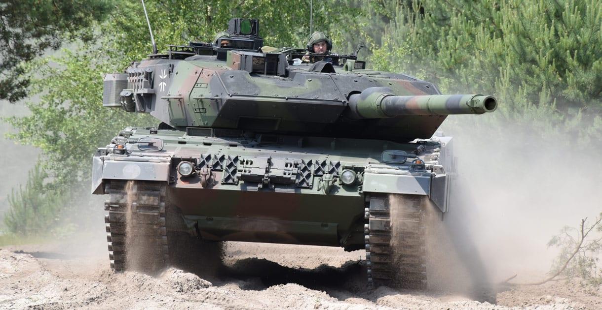 Το νέα Leopard 2 A7V