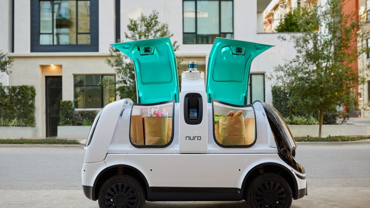 Nuro self-driving road vehicle