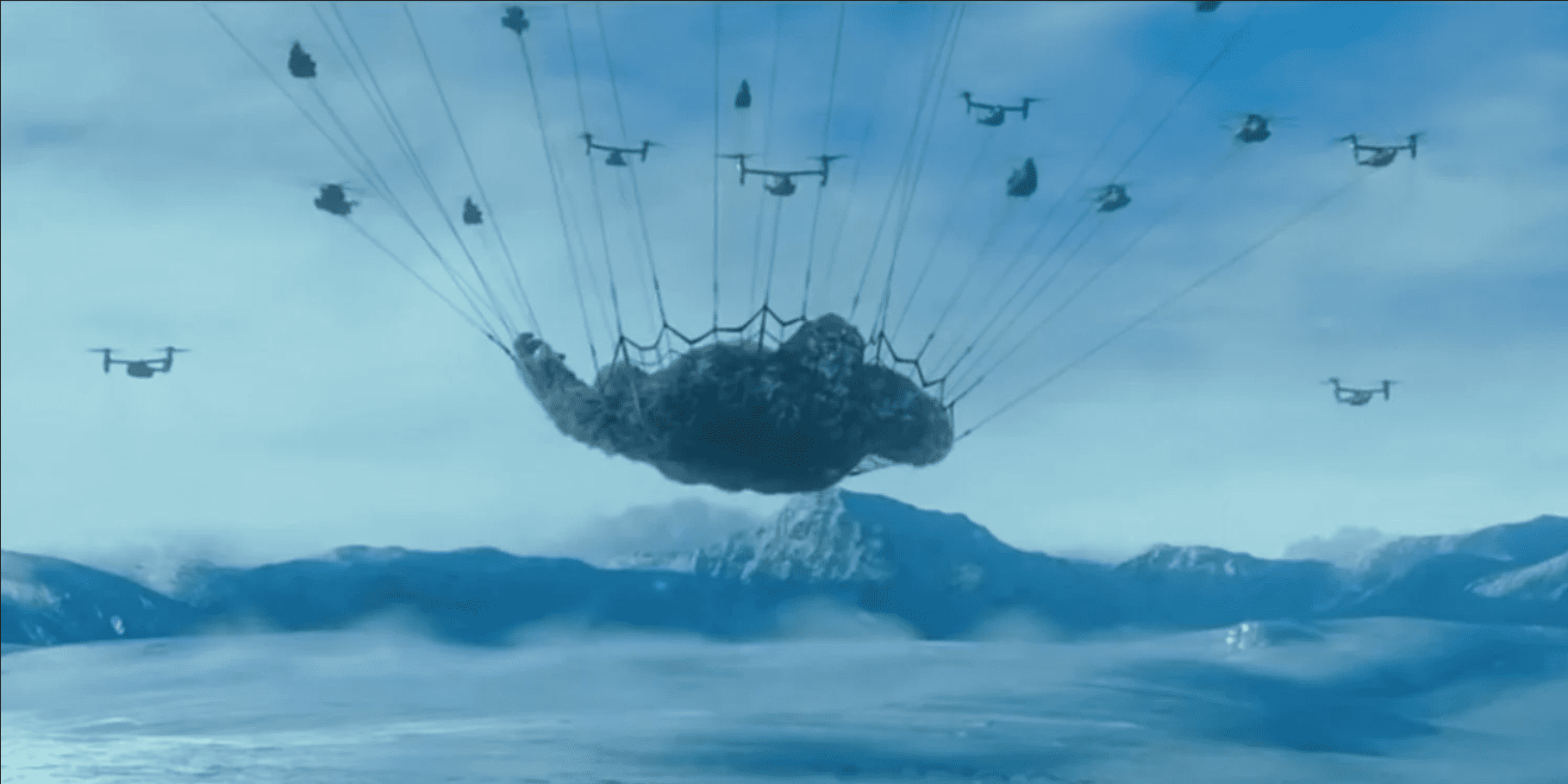"Godzilla Vs Kong – ""Monarch Captures Kong"" Trailer"