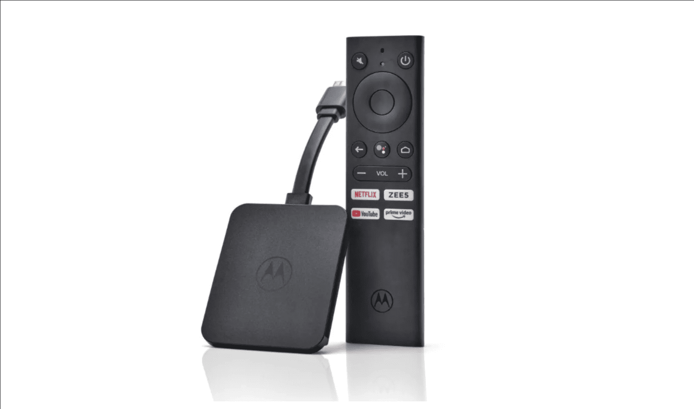 Motorola 4K Android TV streaming stick