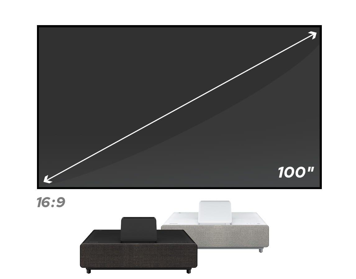 Epson EpiqVision Ultra LS500 Laser Projection TV