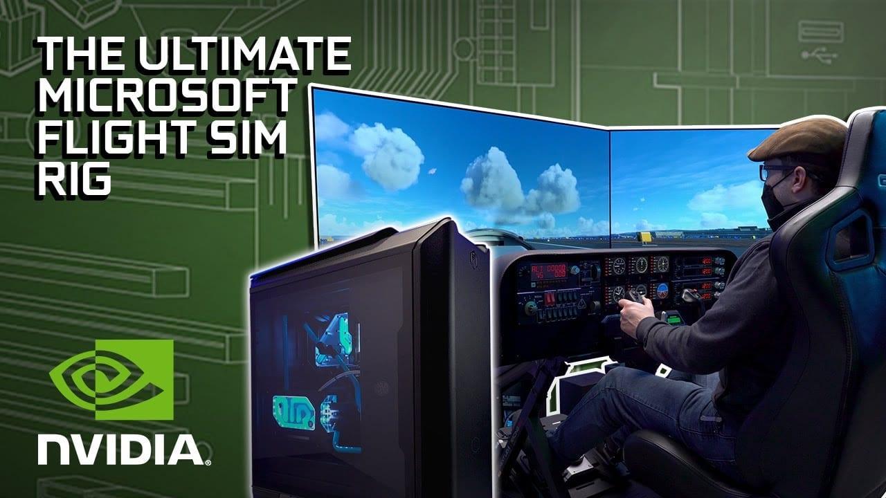 Ultimate Microsoft Flight Simulator PC & Rig Build