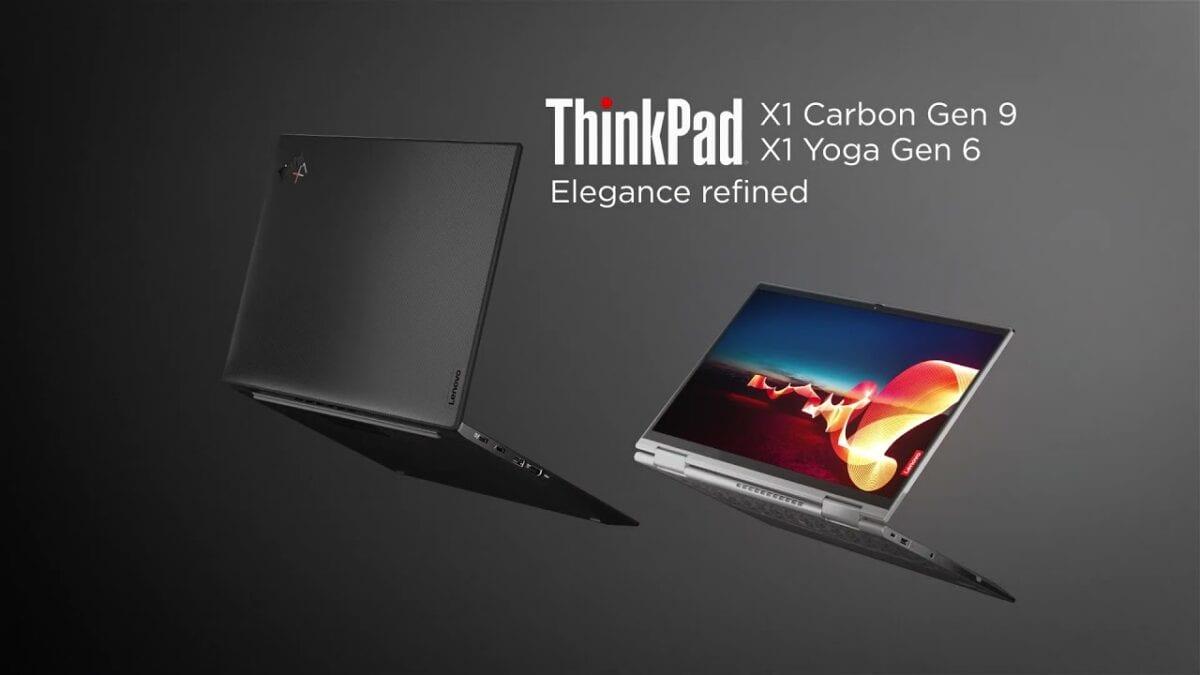 ThinkPad X1 Carbon Gen 9 + X1 Yoga Gen 6
