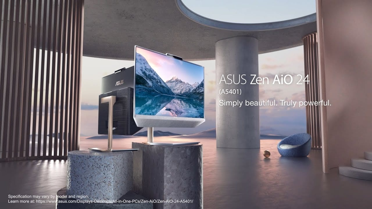 Το νέο ASUS Zen AiO 24