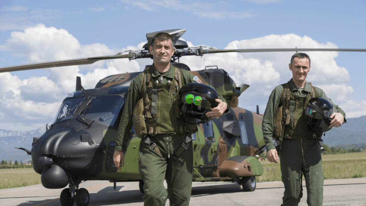 Κάσκα Επαυξημένης Πραγματικότητας TopOwl για ελικόπτερα ΝΗ-90