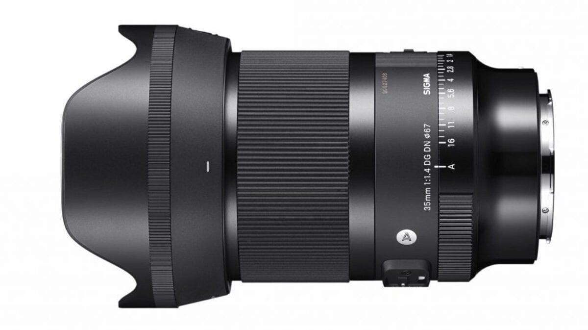 Νέος Sigma 35mm f/1.4 FE φακός