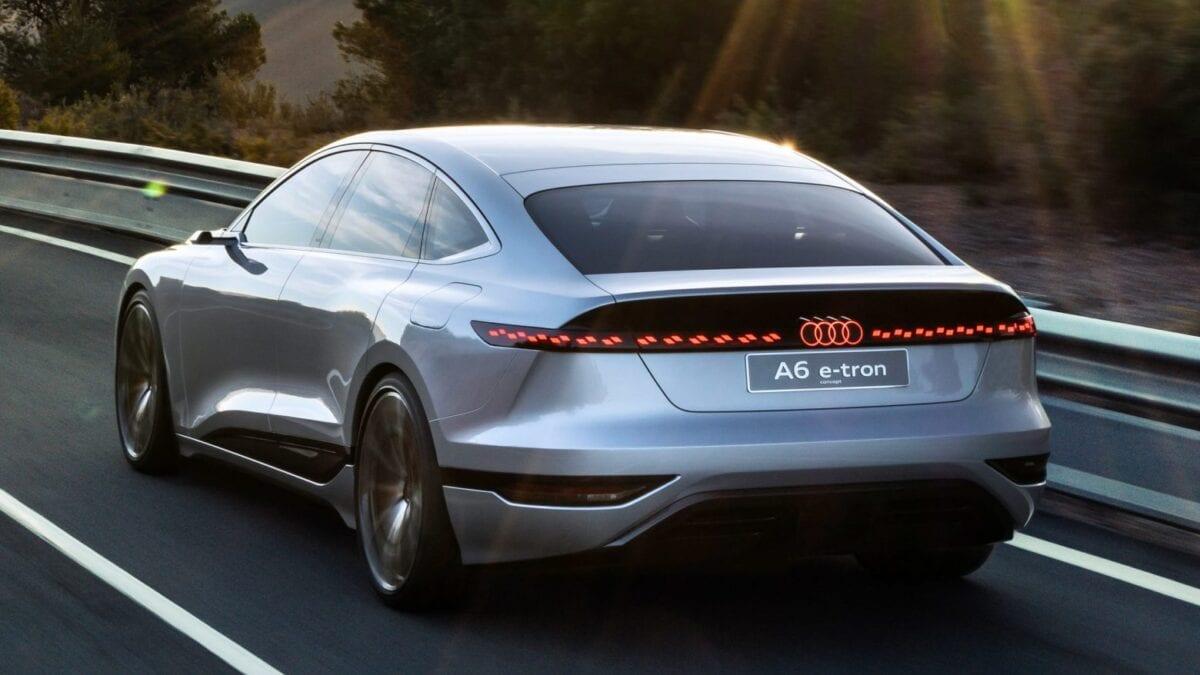 Νέο Audi A6 e-tron concept