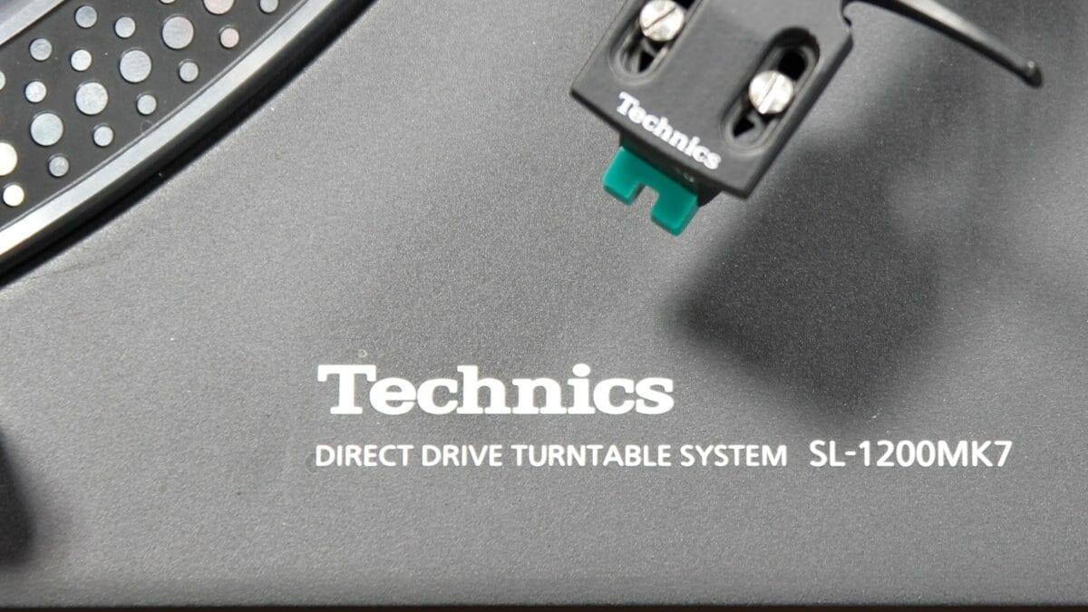 Νέο Technics SL-1200MK7 πικάπ