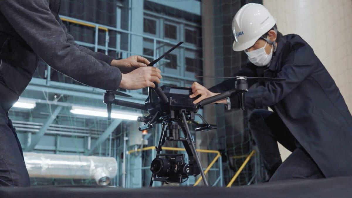 Το drone Sony Airpeak σε άνεμο 70 χλμ/ώρα !