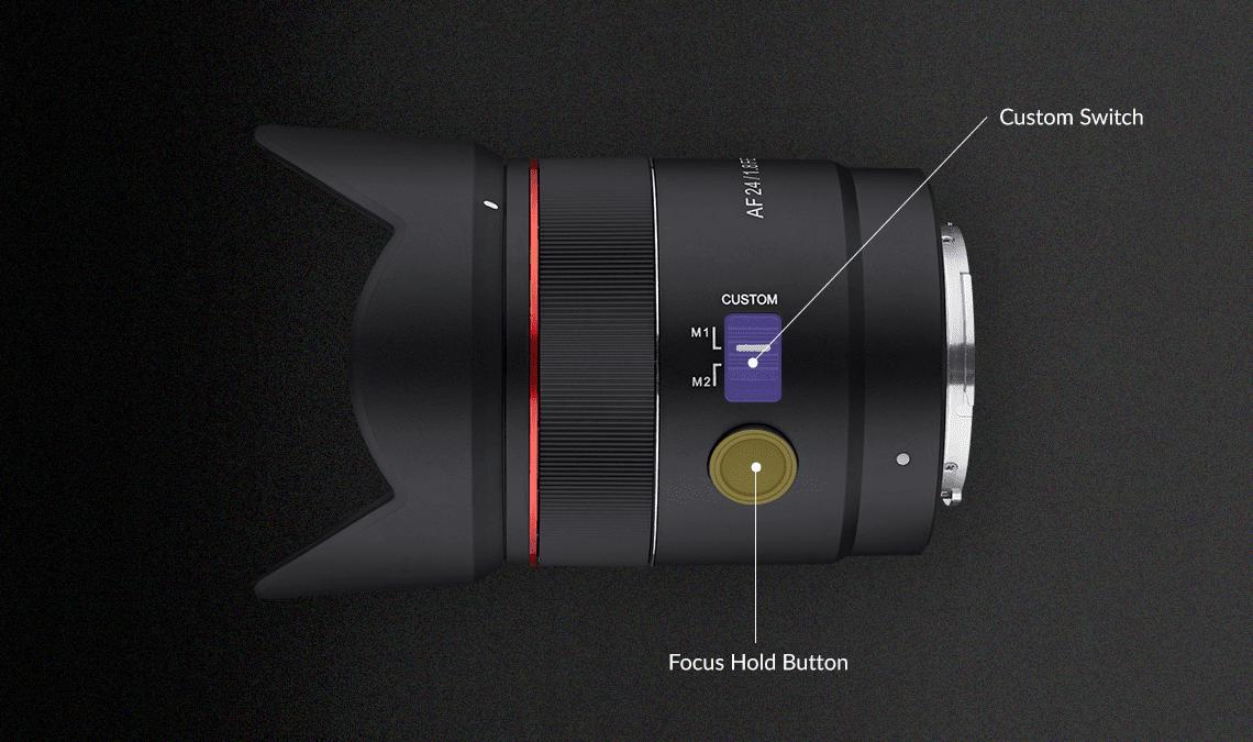 O νέος Samyang 24mm F1.8 FE