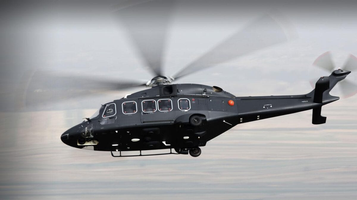 To νέο AW149 Medium Helicopter