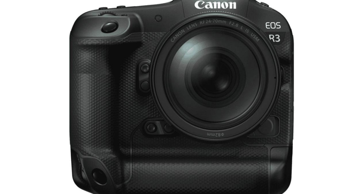 Canon EOS R3 full-frame mirrorless