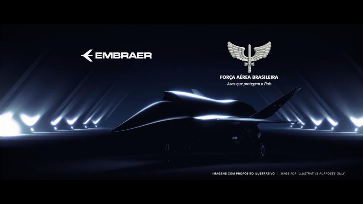 Επαναστατικό Embraer Unmanned Aircraft System