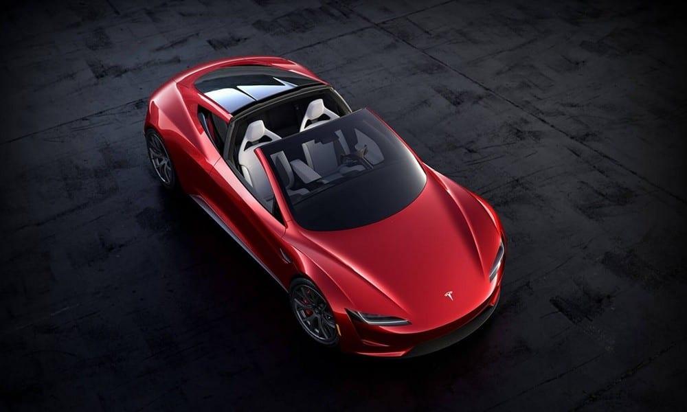 Εκρηκτικές επιδόσεις του Tesla Roadster
