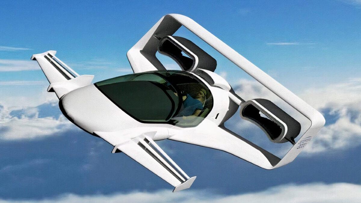 Ιπτάμενο Αυτοκίνητο Jetoptera J-2000