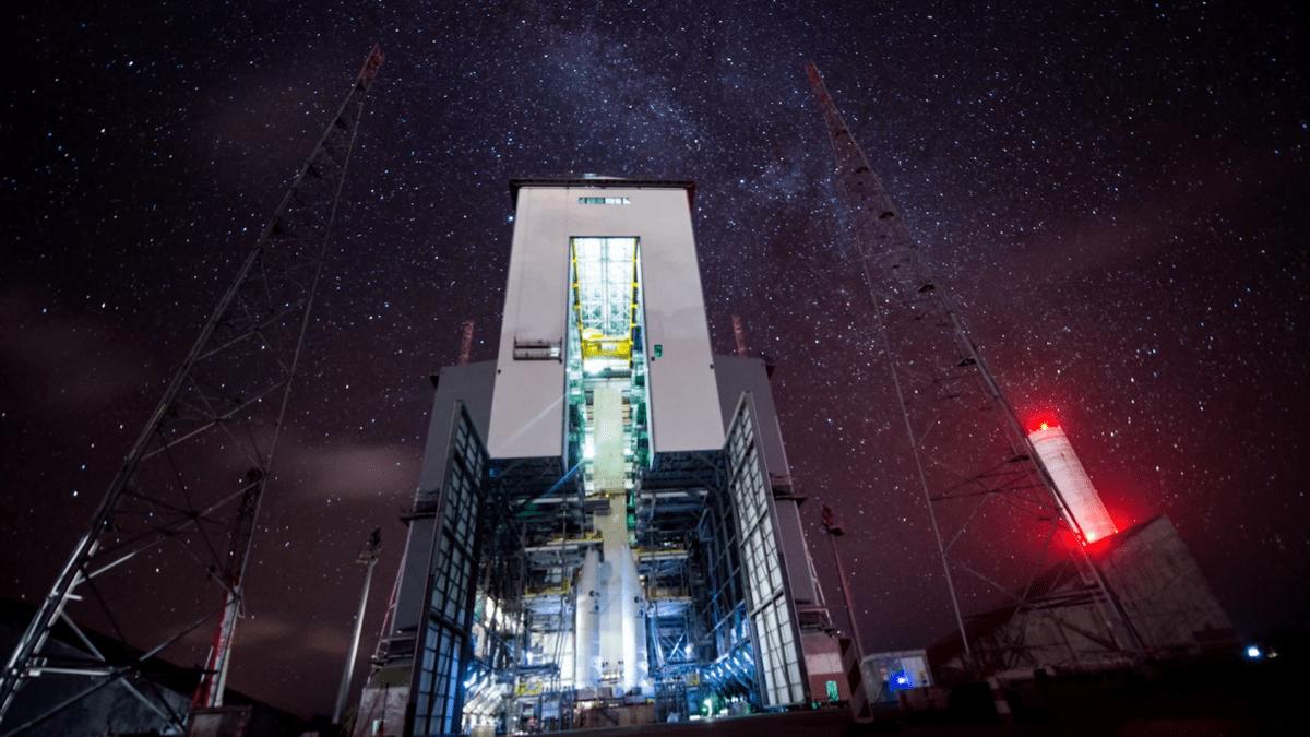 Καταπληκτική βραδιά αστεριών στην Ariane 6 launch base