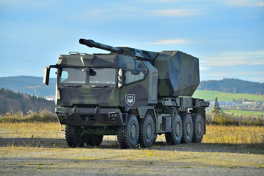 Τα πανίσχυρα Rheinmetall HX3 Tactical Truck Series
