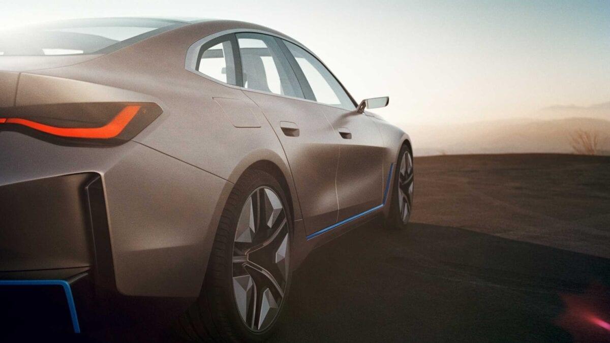 Σχεδιάζοντας ένα ηλεκτρικό Μέλλον – το concept BMW i4