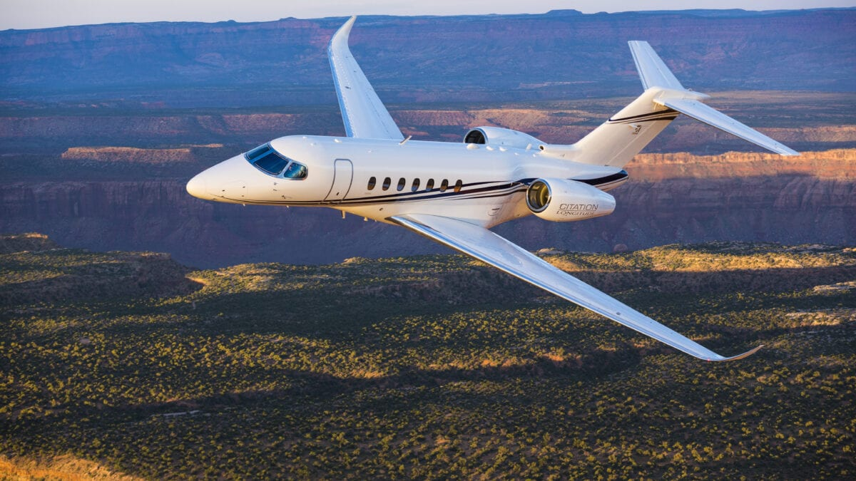 Cessna Citation Longitude Business Jet