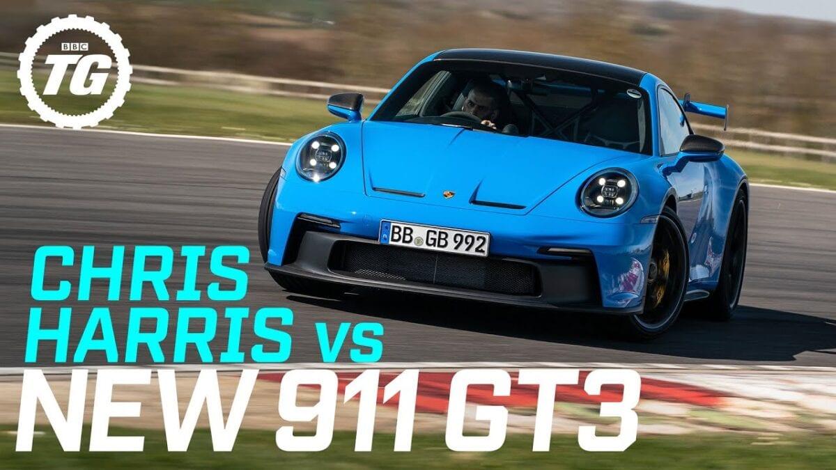 Chris Harris + Porsche 911 GT3
