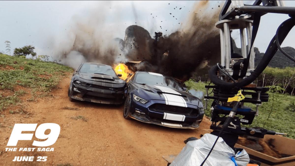 F9 – Τα εντυπωσιακά Car Stunts της ταινίας