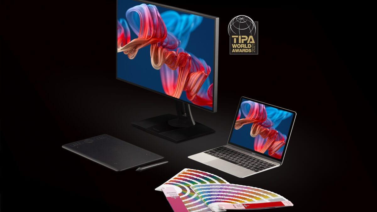 Επαγγελματικές οθόνες ColorPro ViewSonic – TIPA World Award 2021
