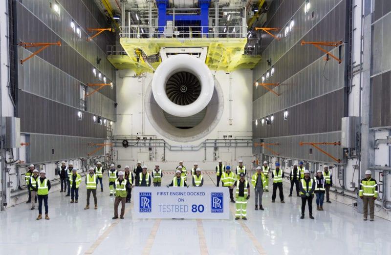 Testbed 80 – To γιγαντιαίο δοκιμαστήριο κινητήρων της Rolls-Royce