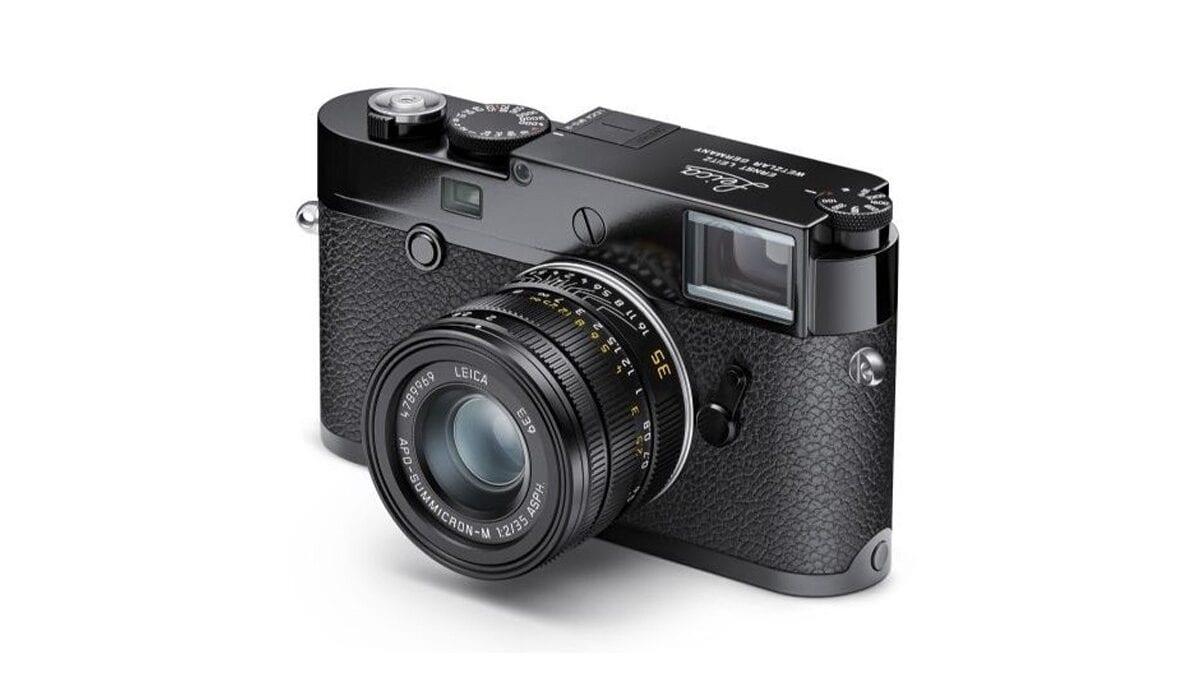Νέα Leica Limited-Edition Black Paint M10-R